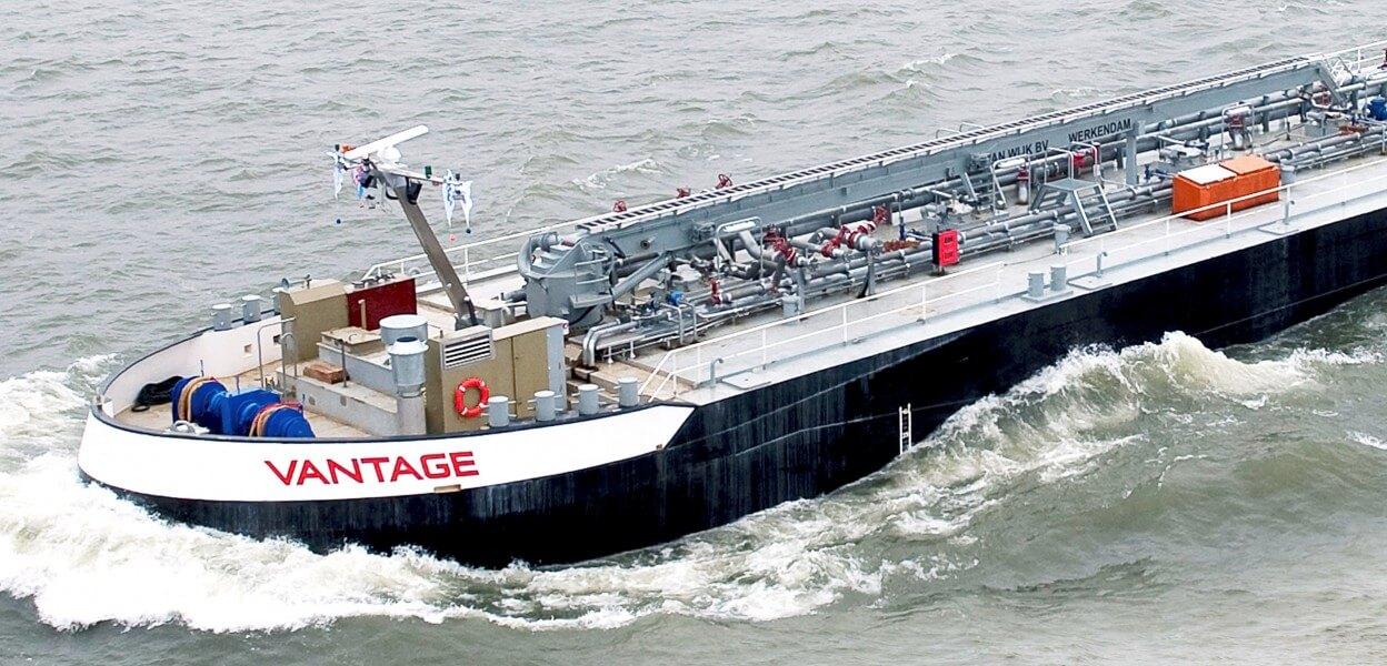 Vantage Bunkerkraan binnenvaart