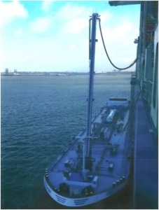 LNG London at work in Rotterdam